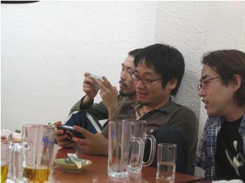 左から一瀬さん、藤岡さん、江口さん