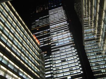 東京ミッドタウン 夜景